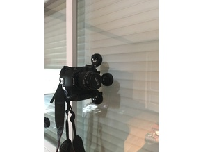 Reflex goPro Mount for Suction Cup