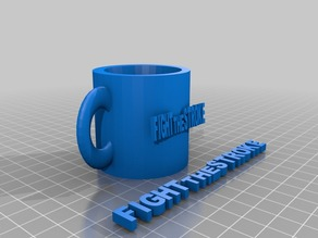 Bi-Manual cup for kids with hemiplegia - by FightTheStroke