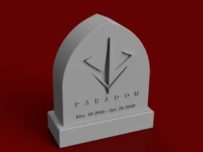 Paragon Tombstone (Tribute)