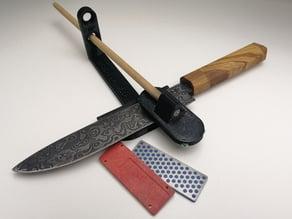 Knife sharpener for DMT Mini Diamond Whetstone