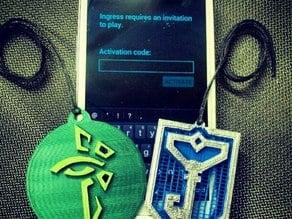 Ingress Faction Badges