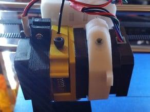 Sintron MK8 extruder fan shroud bolt on