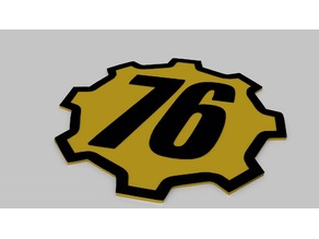 Fallout 76 Drink Coaster