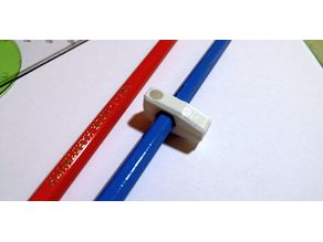 Hexagonal pencil holder with/without magnet
