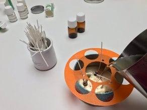 Candle wicks holder - placeur de Mèches pour bougie