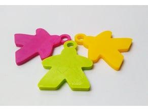 Meeple keychains