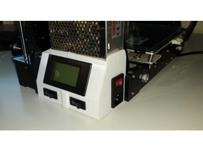 Anet A8 LCD power suply screen with swhitches