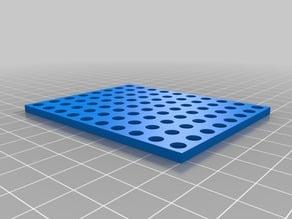 MakeBlock 8 x 10 holes panel with square corners