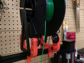 Spool Holder for MendelMax2 or any 20mm Extrustion