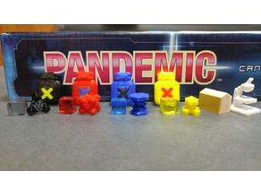 Pandemic game pieces