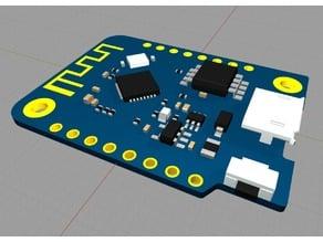 Model of a WEMOS D1 mini v3.1.0