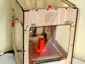 Troublemaker 3D printer (Ultimaker derivative)