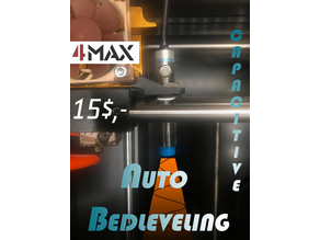 4MAX Autobed leveling with capacitive Sensor 15$
