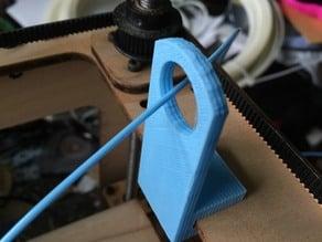 Filament Guide Loop Clip for Cupcake CNC