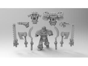 Assault Marine Builder Berserker, Tzaangors, Blade Cabal