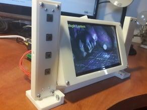 """Beaglebone LCD 5"""" cape case"""