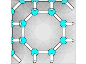 Hypothetical ultralow-density ice LTA / Zeolite LTA