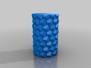 My Customized Honeycomb vase