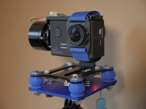 Electric DIY Gopro gimbal (under 70€)