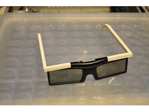 Samsung 3d glasses arms replacement (Smart TV)