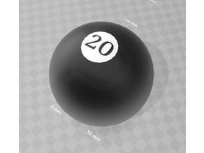 Magic D20 Ball