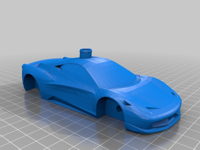 Ferrari 458 Balloon Power By Gromfrog Thingiverse