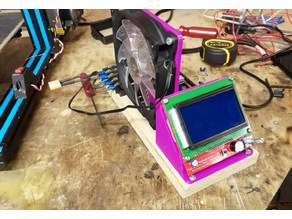 12864 LCD reprap Graphics smart controller