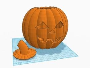 carved pumpkin jack o' lantern
