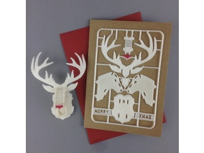 Christmas Reindeer Card Kit