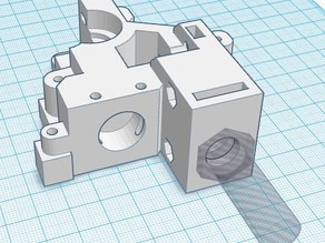Wade Extruder Body Sensor mod for 1.75mm filament with support