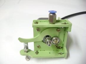 1,75mm lasercut extruder Bowden type