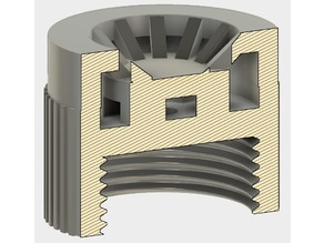 "Watersaver / flow restrictor - BSP 3/4"" - Standard size"