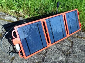 Foldable Solar Panel - Large version
