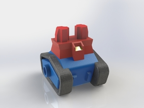 Guntank (Lower body) for LEGO Minifig