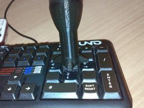 Joykey, a joystick on the keyboard