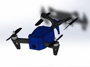 Mini FPV V-Quadcopter by jsobanski (Inspired by Emaglio)