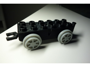 Lego DUPLO train small car, wagon