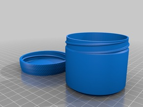 My Customized Container with Knurled Lid