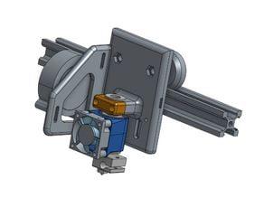 2020 slider with E3d v6 mount