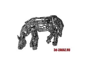 Robot-horse Voronoi