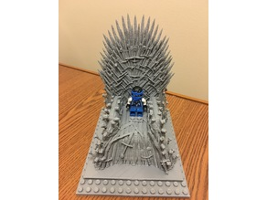 Iron Throne with lego addons