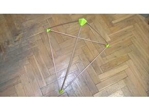 Tetrahedron Connectors