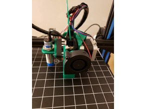 CR-10S TItan Aero Mount with 18mm ABL probe
