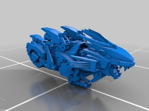 Liger Zero Zoid parted for printing