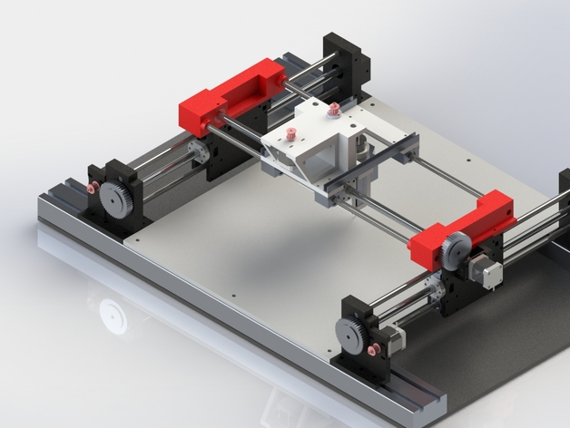 3 Axis Cnc Platform By Mallemann Thingiverse