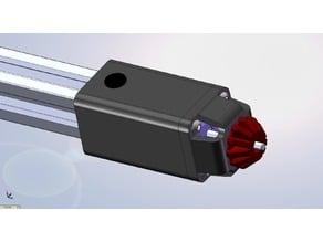 Belt Tensioner for 20 x 20 Extruded Aluminum