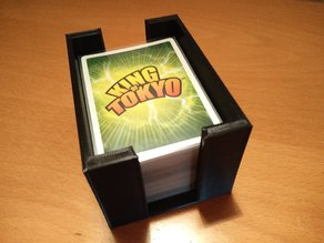Power Cards (sleeved) box - insert for King of Tokyo