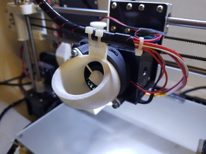 Air intake arc extruder ventilator Anet A8 upgrade