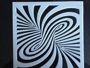 dual extrusion swirl