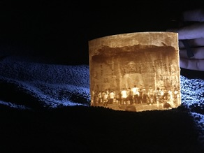Longmen Grottoes Lithophane